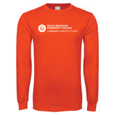 Orange Long Sleeve T Shirt-Primary Mark