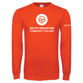 Orange Long Sleeve T Shirt-Stacked