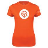 Ladies Syntrel Performance Orange Tee-Icon