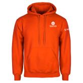 Comm College Orange Fleece Hoodie-Stacked