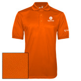 Comm College Orange Dry Mesh Polo-Stacked