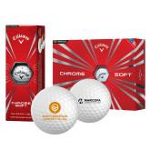 Callaway Chrome Soft Golf Balls 12/pkg-Stacked