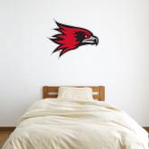Bookstore 2 ft x 3 ft Fan WallSkinz-Hawk Head