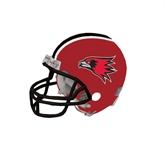 Bookstore Riddell Replica Red Mini Helmet-Hawk Head