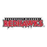 Bookstore Medium Decal-Southeast Missouri Redhawks, 8 inches wide