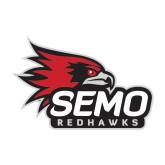 Bookstore Medium Decal-SEMO Logo with Redhawks