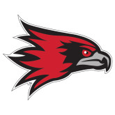 Bookstore Large Decal-Hawk Head, 12 inches wide