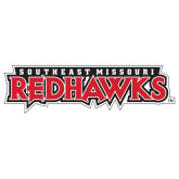 Bookstore Large Decal-Southeast Missouri Redhawks, 12 inches wide