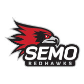 Bookstore Large Decal-SEMO Logo with Redhawks