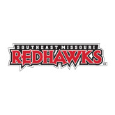Bookstore Small Decal-Southeast Missouri Redhawks, 6 inches wide