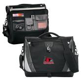 Bookstore Slope Black/Grey Compu Messenger Bag-Primary Logo