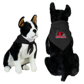 Bookstore Black Pet Bandana-Primary Logo