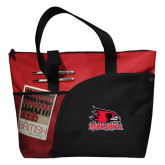 Excel Red Sport Utility Tote-Official Logo