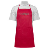 Bookstore Full Length Red Apron-Redhawks