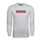 State White Long Sleeve T Shirt-Southeast Missouri Redhawks