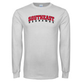 State White Long Sleeve T Shirt-Southeast Redhawks