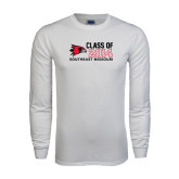 White Long Sleeve T Shirt-Class of Outline