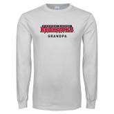 Bookstore White Long Sleeve T Shirt-Grandpa