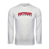 State Syntrel Performance White Longsleeve Shirt-Southeast Redhawks