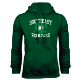 Ladies Black T Shirt-Southeast Redhawks Shamrock