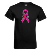 Black T Shirt-Breast Cancer Awareness