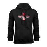 Black Fleece Hoodie-Track and Field Design
