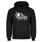 Bookstore Black Fleece Hoodie-SEMO Logo with Redhawks