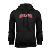 Black Fleece Hoodie-Arched Southeast Missouri Redhawks