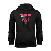Black Fleece Hoodie-Graphics on Basketball