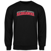 Black Fleece Crew-Arched Southeast Missouri Redhawks