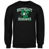 Black Fleece Crew-Southeast Redhawks Shamrock