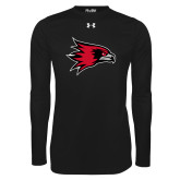 Bookstore Under Armour Black Long Sleeve Tech Tee-Hawk Head
