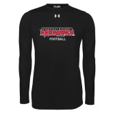 Bookstore Under Armour Black Long Sleeve Tech Tee-Football