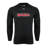 State Under Armour Black Long Sleeve Tech Tee-Southeast Missouri Redhawks