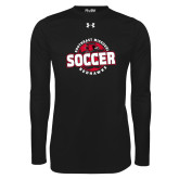 Bookstore Under Armour Black Long Sleeve Tech Tee-Soccer