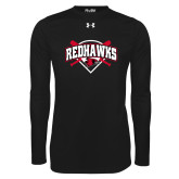 Bookstore Under Armour Black Long Sleeve Tech Tee-Softball