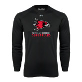 Under Armour Black Long Sleeve Tech Tee-Sundancers