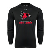Under Armour Black Long Sleeve Tech Tee-Cross Country
