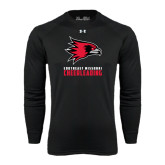 Under Armour Black Long Sleeve Tech Tee-Cheerleading