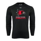 Under Armour Black Long Sleeve Tech Tee-Gymnastics
