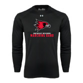 Under Armour Black Long Sleeve Tech Tee-Marching Band