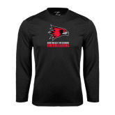 Syntrel Performance Black Longsleeve Shirt-Cheerleading