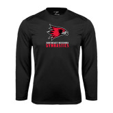 Syntrel Performance Black Longsleeve Shirt-Gymnastics