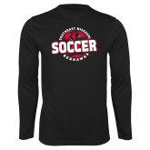 Bookstore Performance Black Longsleeve Shirt-Soccer
