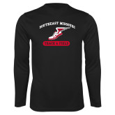 Bookstore Performance Black Longsleeve Shirt-Track & Field