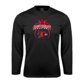 Syntrel Performance Black Longsleeve Shirt-Graphics in Basketball