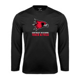 Syntrel Performance Black Longsleeve Shirt-Track & Field