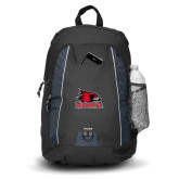 Bookstore Impulse Black Backpack-Primary Logo