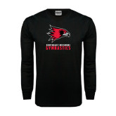 Black Long Sleeve TShirt-Gymnastics
