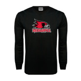 State Black Long Sleeve TShirt-Official Logo